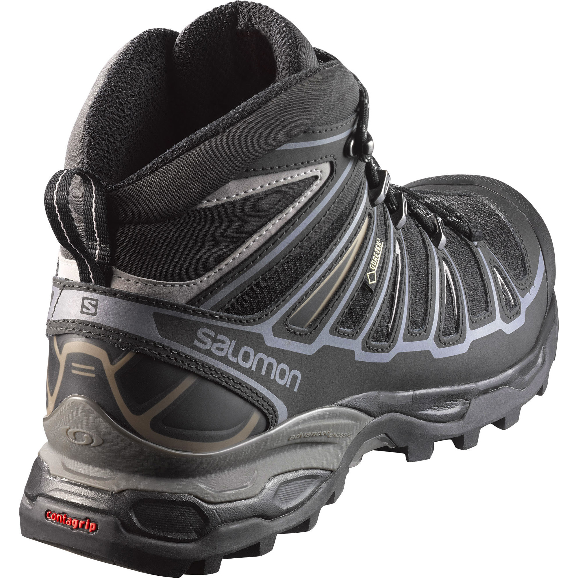 best sneakers 58c1f ce7ee Semighete alergare Salomon X Ultra Mid 2 Spikes Gore-Tex ...