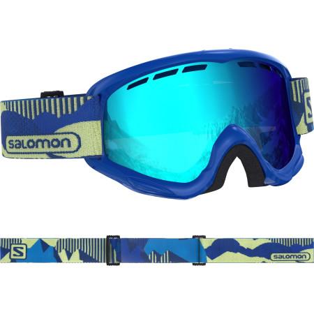 Ochelari Ski Salomon Juke Blue pop/Univ. Mid Blue Copii