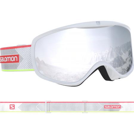 Ochelari Ski Salomon Sense White-corail/Uni.S.White Femei