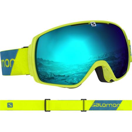 Ochelari Ski Salomon Xt One Neon Yellow/Solar Blue