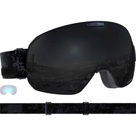 Ochelari Ski Salomon S/Max Black/Solar Black