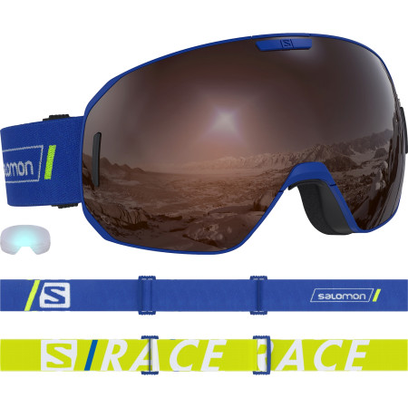Ochelari Ski Salomon S/Max Race Blue/Solar Silver Unisex