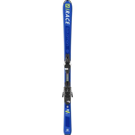 Set Skiuri Salomon E S/Race Jr M + Legaturi L7 B80 Bl pentru copii