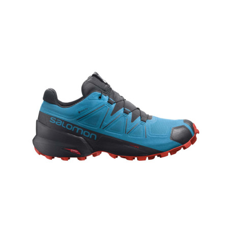 Salomon Pantofi Alergare Barbati SPEEDCROSS 5 GTX Albastru