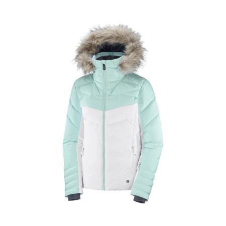 Geaca Ski Femei WARM AMBITION JKT W Alb