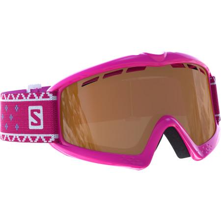Ochelari Ski Salomon Kiwi Pink / Universal Silver Mirror Copii