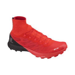 Pantofi Alergare Unisex Salomon  S/Lab Sense 8 Sg Racing Red/Bk/Wh